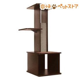 ペティオ ネココ スリムで壁ぎわに置きやすい キャットリビングタワー(1台)[爽快ペットストア]