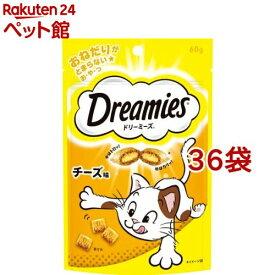 ドリーミーズ チーズ味(60g*36コセット)【d_dream】【ドリーミーズ】[爽快ペットストア]