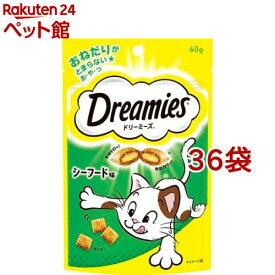 ドリーミーズ シーフード味(60g*36コセット)【d_dream】【ドリーミーズ】[爽快ペットストア]