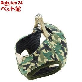 ペティオ アルファッション 迷彩ベストハーネス XS グリーン(1コ入)【アルファッション(ARFashion)】[爽快ペットストア]