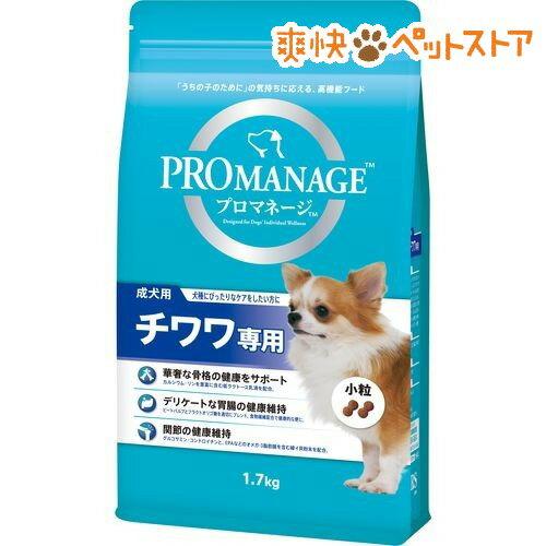 プロマネージ チワワ専用 成犬用(1.7kg)【d_pro】【プロマネージ】[爽快ペットストア]