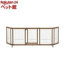 リッチェル ペット用木製おくだけドア付きゲート Lサイズ(1台)[爽快ペットストア]