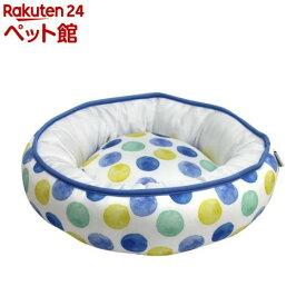 ラウンドベッド RB-78 S ブルー(1個)【adorable pets(アドラブルペッツ)】[爽快ペットストア]