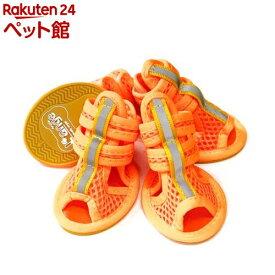らんじゅ Dogメッシュサンダル オレンジ L(1足)【らんじゅ(L'ange)】[爽快ペットストア]