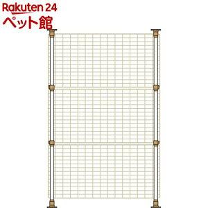 マルカン 猫網戸脱走防止フェンス Sサイズ(1コ入)[爽快ペットストア]