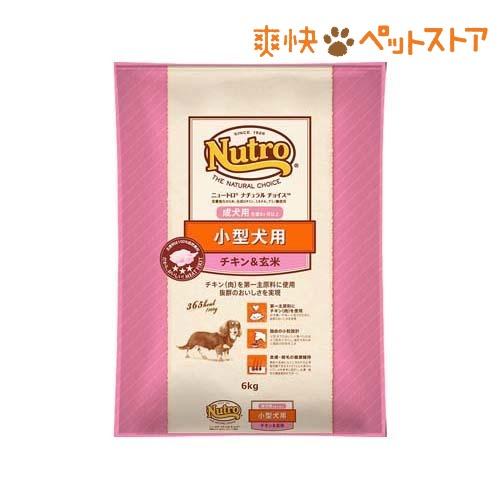 ニュートロ ナチュラルチョイス 小型犬用 成犬用 チキン&玄米(6kg)【d_nutro】【ナチュラルチョイス(NATURAL CHOICE)】[爽快ペットストア]