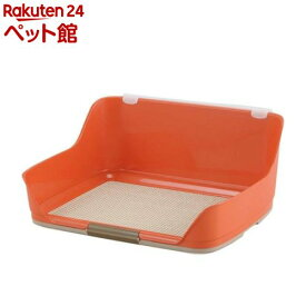 ボンビアルコン しつけるウォールトレー オレンジ Mサイズ(1コ入)【しつけるトレー】[爽快ペットストア]
