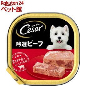 シーザー 吟選ビーフ (100g)【シーザー(ドッグフード)(Cesar)】[ドッグフード][爽快ペットストア]