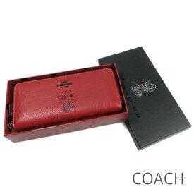 ac534820cf98 コーチ COACH 財布 長財布 ディズニー×コーチ ミニーマウス Disney コラボ 限定商品 レディース レザー