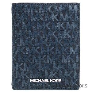 マイケル マイケルコース MICHAEL Michael Kors 財布 レディース 二つ折り財布 パスポートケース パスポートカバー MK柄 シグネチャー ブランド マイケルコース正規品販売店 直営アウトレット店よ