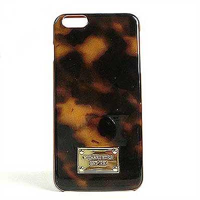 マイケル マイケルコース iPhone6 Plus ケース レディース iPhone6 Plus カバー アイフォン ギフト プレゼント べっこう柄 ブラウン 茶 ブランド 正規直営アウトレット店直輸入
