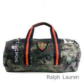34d9fb6ce204 ポロ ラルフローレン Polo Ralph Lauren バッグ メンズ ラルフ ボストンバッグ 旅行かばん 2Way 迷彩柄