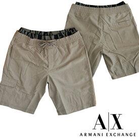 A|X Armani Exchange アルマーニエクスチェンジ メンズ 水着 レイヤード グレー インナーメッシュ付き ストレッチ スイムウェア ボードショーツ パンツ アメカジ サーフ セレカジ インポート カジュアル スタイル ファッション