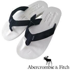 アバクロ Abercrombie&Fitch アバクロンビー&フィッチ メンズ ビーチサンダル A&F ホワイト ネイビー サンダル アメカジ サーフ ファッション ブランド インポート カジュアル ヴィンテージ スタイル 正規 商品 13