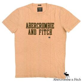 アバクロ Abercrombie&Fitch アバクロンビー&フィッチ メンズ 半袖 Tシャツ ABERCROMBIE AND FITCH A&F ライトピンク アメカジ ブランド ファッション インポート カジュアル ヴィンテージ スタイル 正規 商品 167