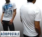 【セール】エアロポステールメンズTシャツホワイト2417Aeropostaleインポートファッションブランドストリート西海岸SURFサーフィンサーフカジュアルアメカジセレカジヴィンテージスタイル正規商品