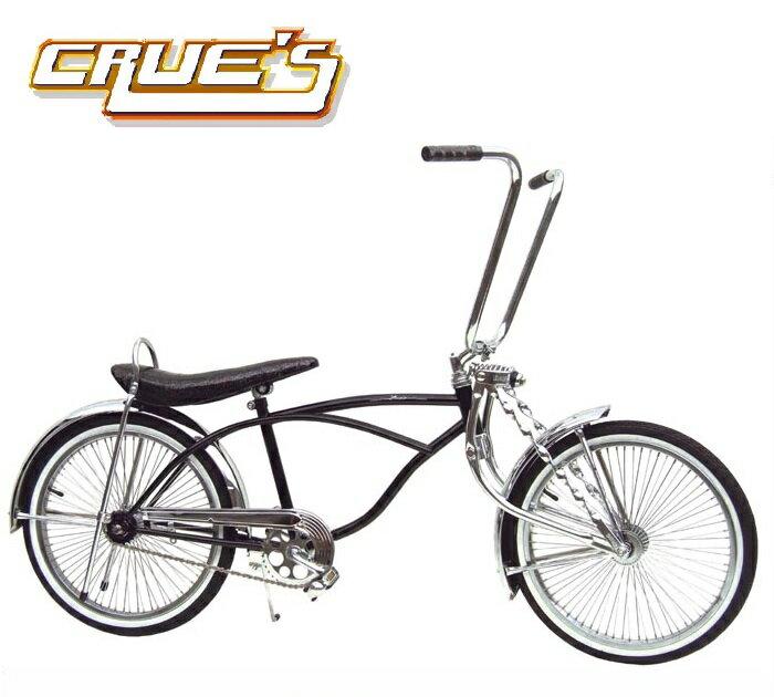 クルーズ ローライダー自転車 ブラック ローチャリ ビーチクルーザー 20インチ 小径 自転車 改造 世田谷ベース エレクトラ レインボー コンプトン カスタム アメリカン チョッパー BMX MTB 小径自転車 ミニベロ 小径車