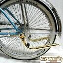 マフラー パイプ ゴールド パイプカッター テールパイプ 自転車 パーツ 自転車部品 ローチャリ ビーチクルーザー カス…