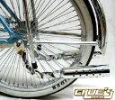 ツイスト ギャングスタ マフラー クローム 自転車 パーツ 自転車部品 アクセサリー ローチャリ ビーチクルーザー カス…