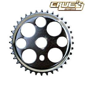 チェーンリング ラッキー7 クローム 36T コンポーネント スプロケ クランク スプロケット 自転車 パーツ 自転車部品 ローチャリ ビーチクルーザー カスタム 改造 部品 ローライダー BMX MTB チョッパー ミニベロ クロスバイク ママチャリ サイクルパーツ