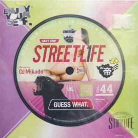 【セール】 DJミカド STREET L1FE Vol.44 DJ Mikado MIXCD DJ帝 ストリートライフ CD 全35曲 Street L1fe クラブ ミュージック HIPHOP CLUB 洋楽 音楽 ヒップホップ MUSIC ミックスCD ミックス 好きに♪