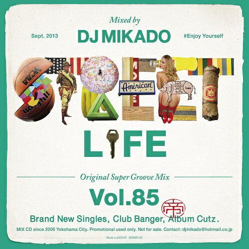 【セール】 DJミカド STREET L1FE Vol.85 DJ Mikado MIXCD DJ帝 ストリートライフ CD 全32曲 Street L1fe クラブ ミュージック HIPHOP CLUB 洋楽 音楽 ヒップホップ MUSIC ミックスCD ミックス 好きに♪