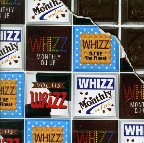【セール】 DJUE / Monthly Whizz VOL.115 MIXCD DJ UE CD 全30曲 DJウエ クラブ ミュージック HIPHOP R&B CLUB MIX 洋楽 音楽 ヒップホップ MUSIC ミックスCD ミックス 好きに♪