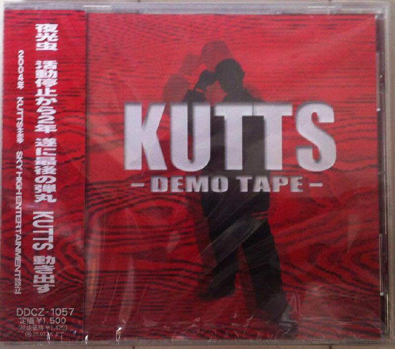 【セール】 KUTTS / DEMO TAPE HIPHOP MC 仙台 夜光虫 R&B クラブ ミュージック CD 邦楽 音楽 CLUB MIX 音楽 ヒップホップ MUSIC 好きに♪