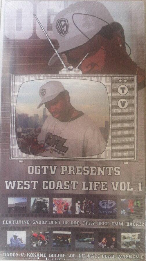 【セール】 絶版 OGTV 2002年製作 スヌープ Snoop Dogg Dr. Dre Tray-Deee CMW Badazz Daddy-V Kokane Goldie Loc Lil Half Dead Warren-G 西海岸 ローライダー HIPHOP ヒップホップ コンプトン ウエストコースト ウエッサイ ミュージック ビデオ