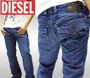 【セール】 ディーゼル DIESEL メンズ デニム RUKY 008P8 プレミアム ジーンズ ブーツカット インポート ファッション…