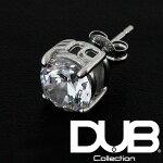 【送料無料】DUBジュエリーピアス1.0カラットホワイトキュービックジルコニア1.0ct148-1メンズレディースダブジュエリーシルバーアクセサリーダブコレクションリング指輪ネックレスSafiriサファリScawaii雑誌掲載ダブブランドプレゼントにも
