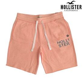 HOLLISTER ホリスター メンズ スウェット ハーフパンツ ピンク ショーツ 半ズボン ハーフ パンツ アメカジ ブランド サーフ ファッション インポート カジュアル ヴィンテージ スタイル 正規 商品 106