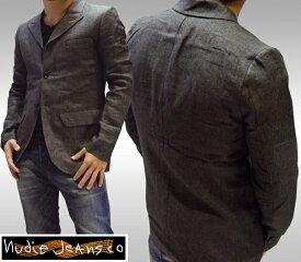 ヌーディージーンズ NUDIE JEANS メンズ テーラードジャケット テーラード ジャケット ブレザー アウター ジーンズ ブランド セレブ ファッション サファリ掲載 NUDIEJEANS ヌーディー イタリア パンツ インポート イタカジ カジュアル ウェア セレカジ スタイル 正規 商品