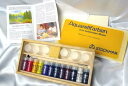 【あす楽対応】【送料無料】シュトックマー社 透明水彩絵の具お絵かきセット木箱入り 12色