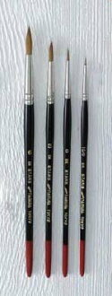 Nomura Watercolor Brush SKstars round brush 3 / 0 no.