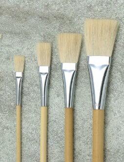 namuradezain毛笔LBP长力型平毛笔尺寸:5号
