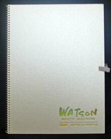 ミューズ スケッチブック ホワイトワトソン 厚口HW-2404 F4