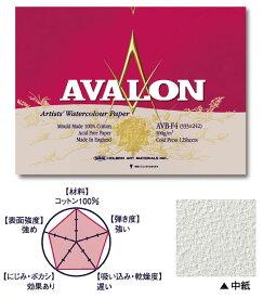 英国水彩紙「アヴァロン AVALON」ブロックF6サイズ