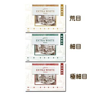 价格适中的棉布100%水彩报纸faburianoekisutorahowaitoburokku SM(萨姆礼堂)
