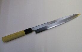 あさがや しんかい 柳刃包丁 刺身包丁 24センチ 白紙2号鋼(日立金属安来工場製) Asagaya Shinkai Yanagiba Sashimi Kitchen Knife 24cm