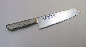 正広 三徳牛刀 17.5センチ MVS鋼(ステンレス鋼) Masahiro Santoku Kitchen Knife 17.5cm