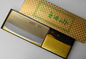正広 中華包丁 17cm 中厚口 約300グラム MVSステンレス鋼 Masahiro Chinese Kitchen Knife 300g TS-201