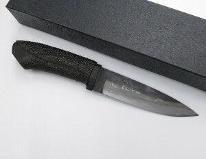 佐治武士 黒備6 130mm 和式ナイフ 剣ナタ 鉈 鍛造白紙多層鋼 (SJ-59) SAJI TAKESHI