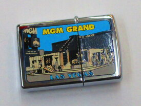 MGMカジノホテル (ラスベガス) ポリッシュZippo 1999年4月製 未使用 (Z10-191)