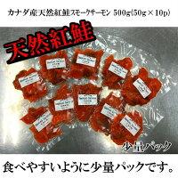 【カナダ産】天然紅鮭スモークサーモン