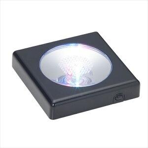 クリスタルパズル ディスプレイライト ブラック LED