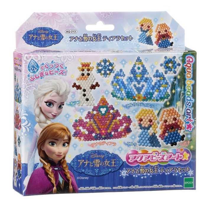 【定形外郵便送料無料】 アクアビーズアート アナと雪の女王 ティアラセット AQ-213