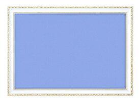 ジグソーパズル用パネル 木製豪華フレーム アンティークホワイト 72×49cm GF101H 【ラッピング不可】