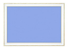 ジグソーパズル用パネル 木製豪華フレーム アンティークホワイト 75×50cm GF103H 【ラッピング不可】