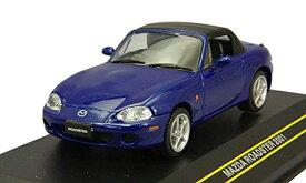 First:43 1/43 ミニカー マツダ ロードスター 2001年 ブルー 幌付き F43-008 国際貿易